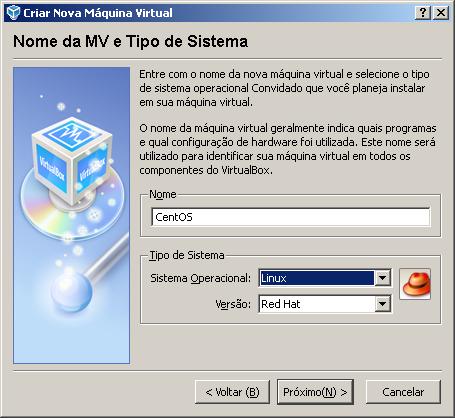 virtualbox, virtualization, virtualização, vmware, xen, assistente, wizard, how-to, como se faz, tela, máquina virtual, virtual machine